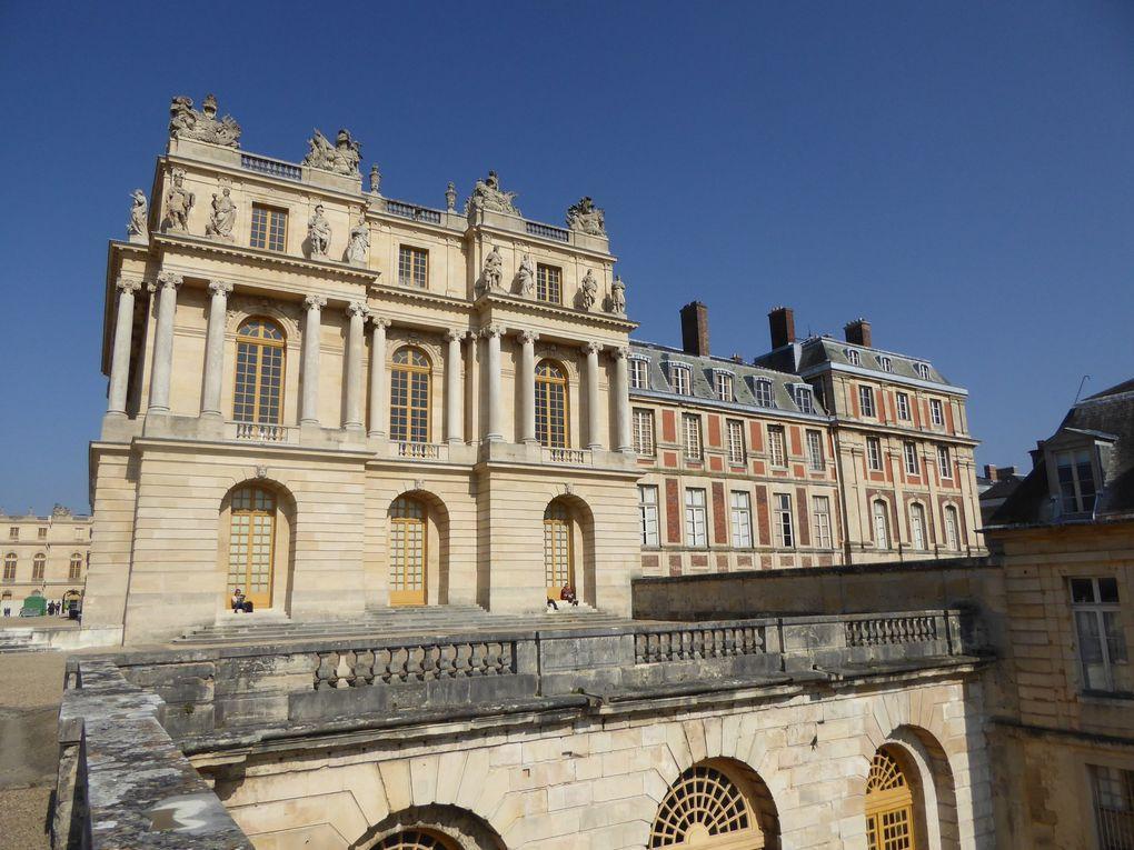Randonnée dans le parc du Château de Versailles. 11 km.