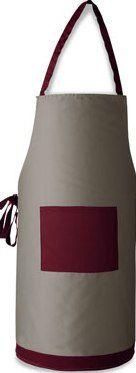 carafe - verre à vin - tablier - sommelier -
