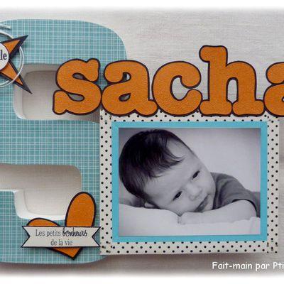 """""""S"""" pour Sacha"""