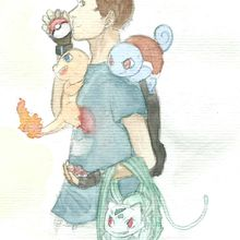 AQUARELLES+POKEMON =HARDCORE