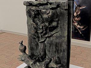Gerard Garouste sculptures.