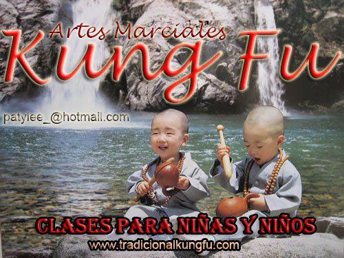 Clases de Kung Fu para Niñas y Niños, Informate ( patylee_@hotmail.com) tlf 626992139 -  sifu paty lee