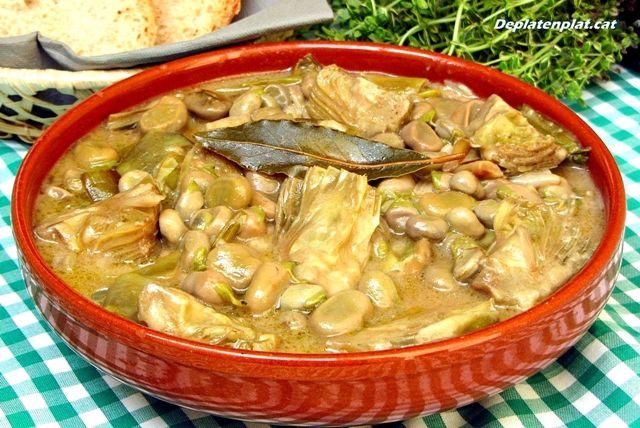 les plats typique de Barcelona