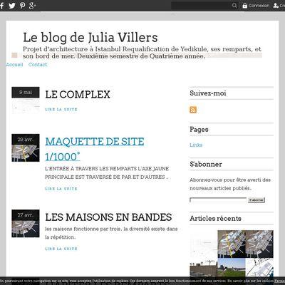 Le blog de Julia Villers