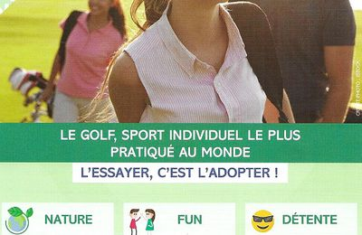 2 H d' Initiation gratuites du 10 Septembre au 4 Octobre 2020 Golf Opio Valbonne