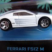 FERRARI 512 M MIAMI VICE HOT WHEELS 1/64. - car-collector.net: collection voitures miniatures