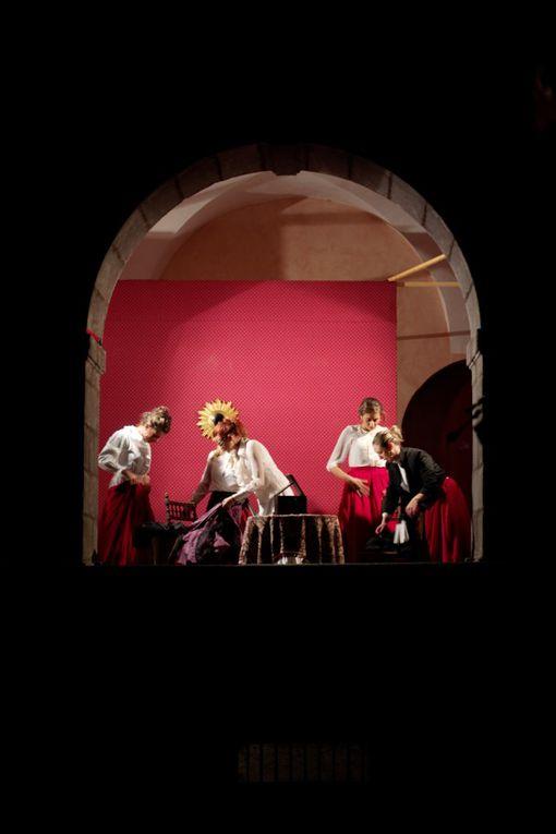 Les Nocturnes d'Aigueperse lors des journées du patrimoine les 15 et 16 septembre 2012 par l'association Marie de Berry