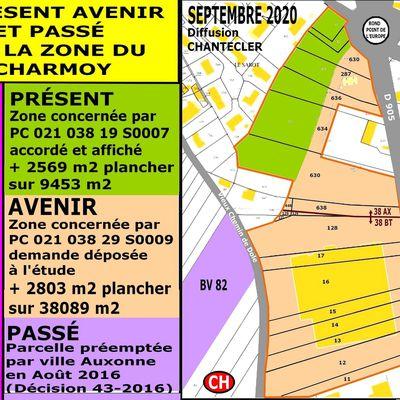 CHARMOY-CITY : APERÇUS SUR « L'ÉCHO DE LA PLACE D'ARMES » D'ANTAN (4) - du 30 novembre 2020 (J+4366 après le vote négatif fondateur)