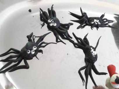 《DIY》Les décos de gâteau sur le thème d'halloween