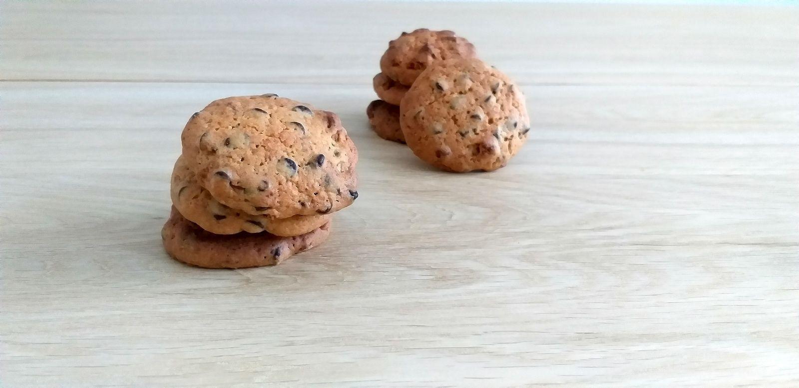Cookies spéculoos et chocolat