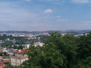Coimbra vu de loin.