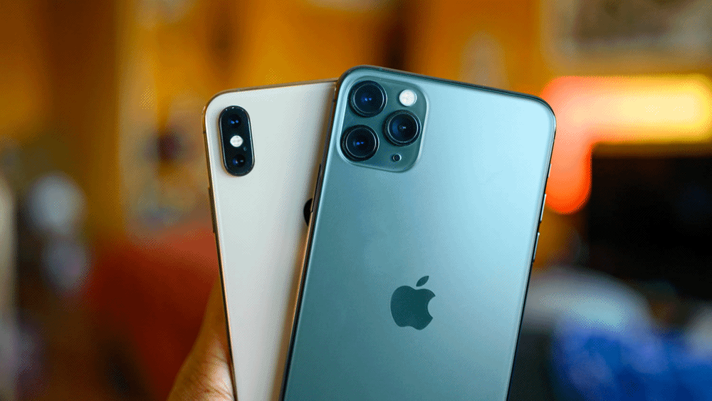 iPhone Xs versus iPhone 11 Pro
