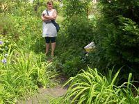 Offener Garten mit netten Gästen