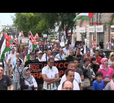 Gaza-Mulhouse pense à toi !