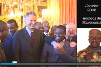 Mais non, la France de Villepin et Mazeau n'était pas derrière le rebelle Guillaume Soro en 2002-2003
