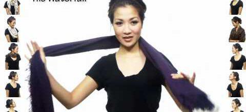 DIY : 25 façons de porter une écharpe