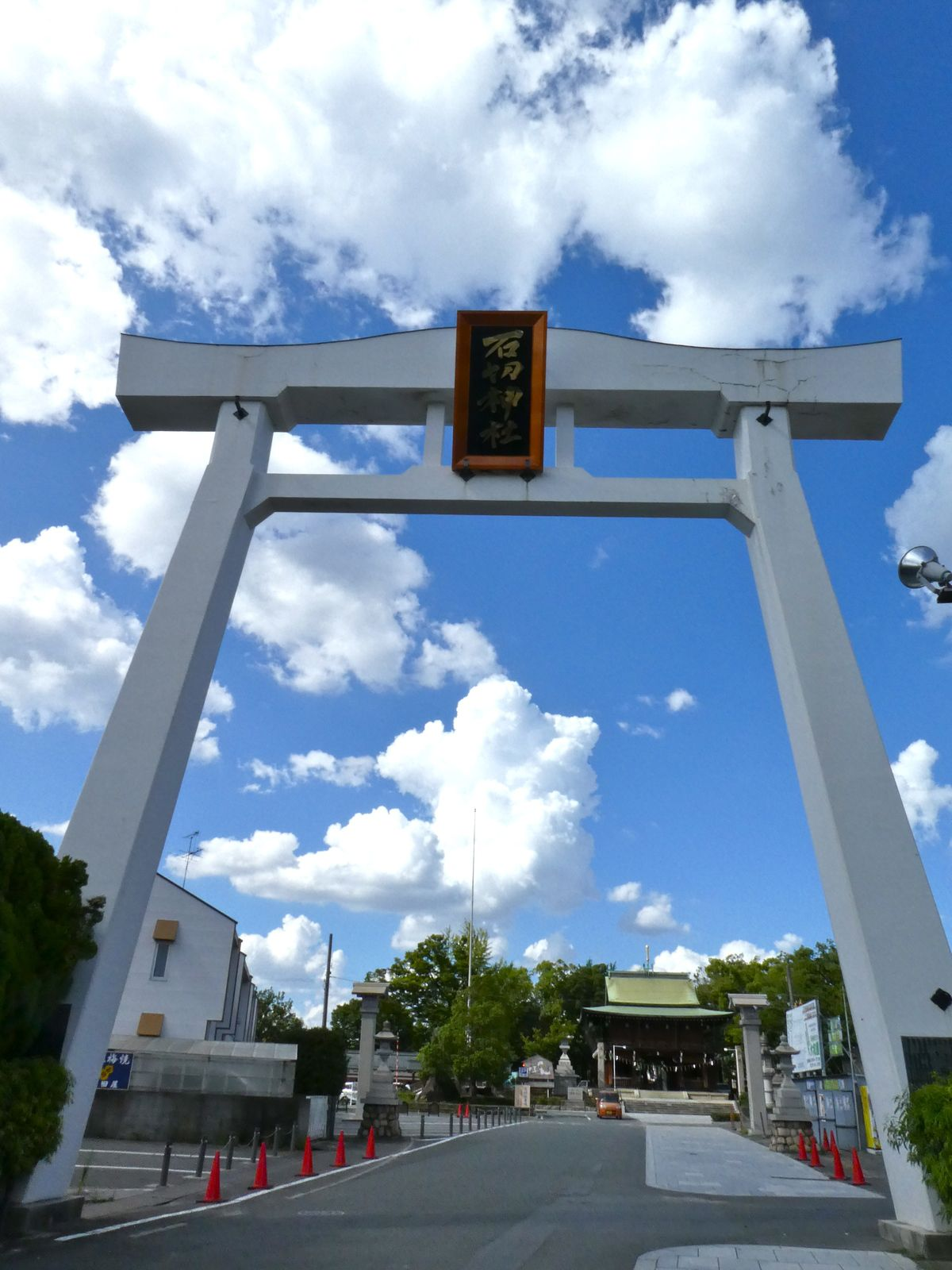 Osaka: Ishikiri Tsuruga Jinja, le sanctuaire où l'on tourne 100 fois!