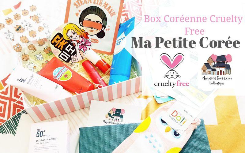 Ma Petite Corée lance sa Box Coréenne Cruelty Free !