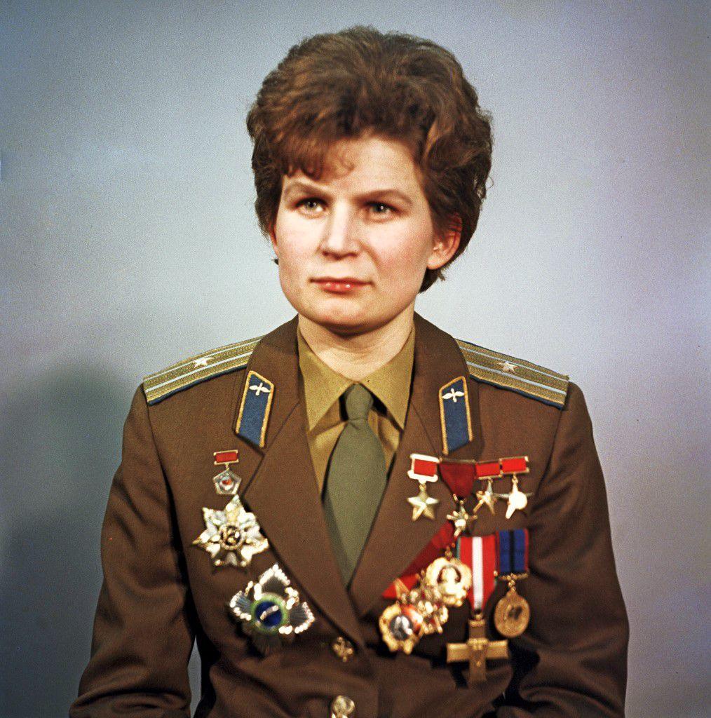 Valentina Terechkova, Allée des cosmonautes du monument des Conquérants de l'Espace, Moscou