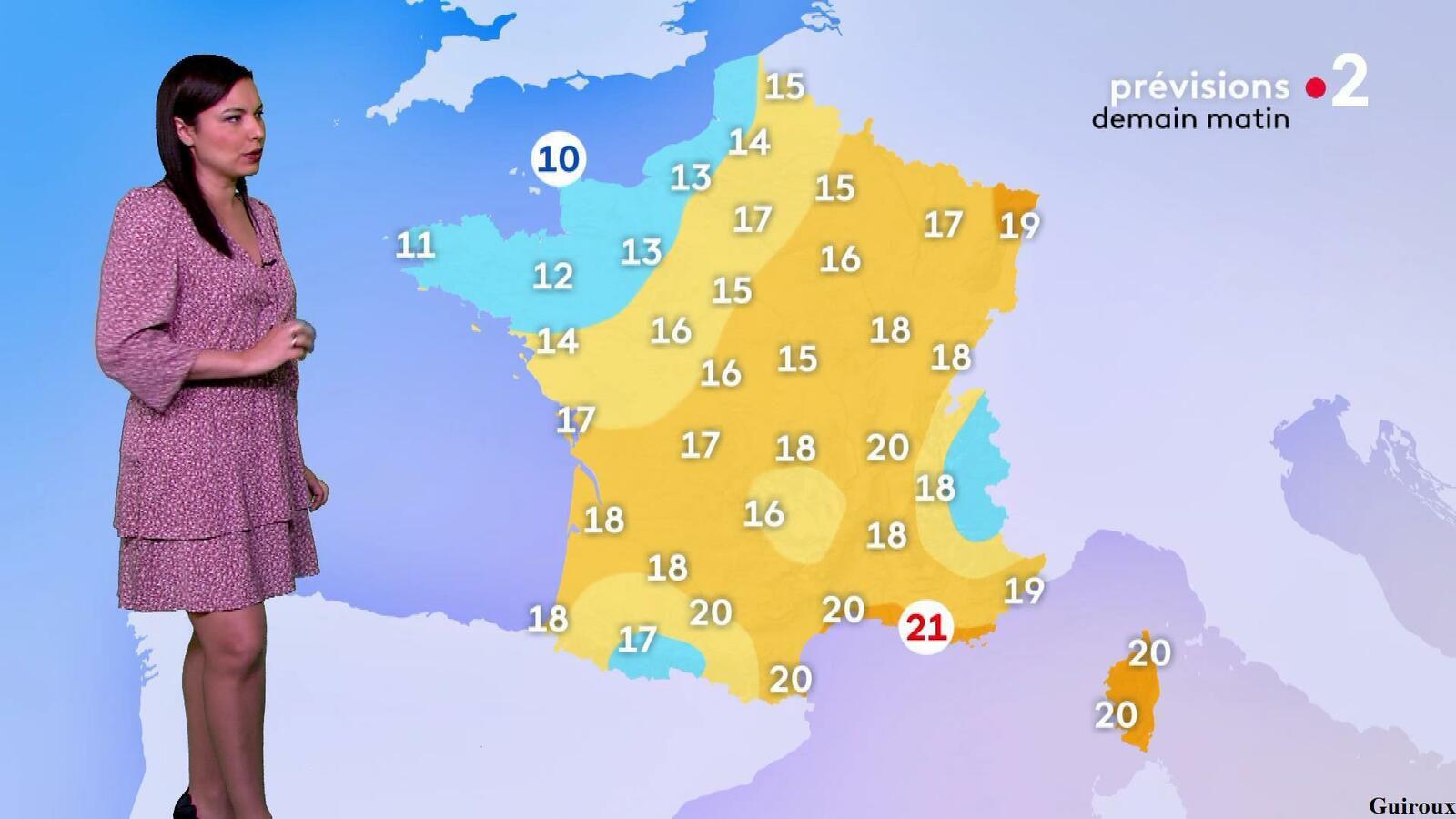 Anaïs Baydemir 18/06/2021 Journaux météo du midi