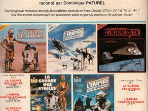 """La Guerre des Etoiles - Le Retour du Jedi, raconté par Dominique Paturel 7"""" + livret  (Disques Adès - 1983)"""