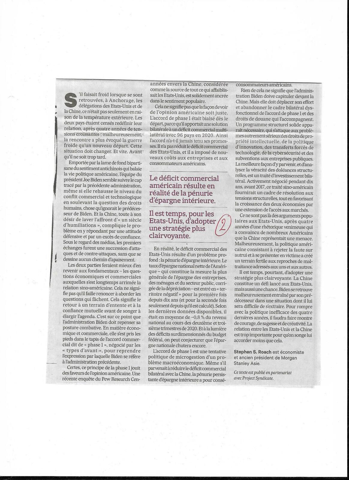 Vus et lus dans Challenges n° 684 du 04/02/21, et Les Echos du 01/04/21