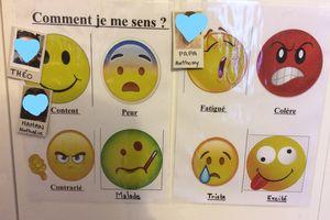 Tableau des émotions