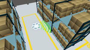 Des drones lecteurs RFID pour faire l'inventaire de votre stock
