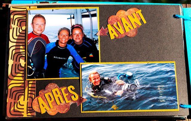 Croisière plongée 2008-2009 avec Brigitte
