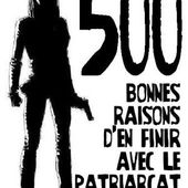 500 bonnes raisons d'en finir avec le patriarcat - Socialisme libertaire