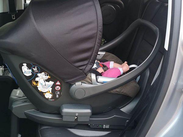 Test du siège auto Inglesina Darwin et Darwin toddler i-Size