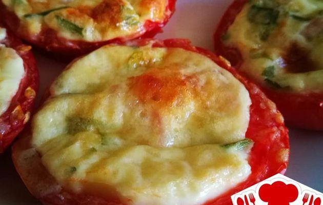Mini quiche dans sa tomate