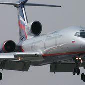 2 MAJ :Un avion militaire russe Tu-154 avec 91 personnes à bord s'est abîmé dans la mer noire - MOINS de BIENS PLUS de LIENS