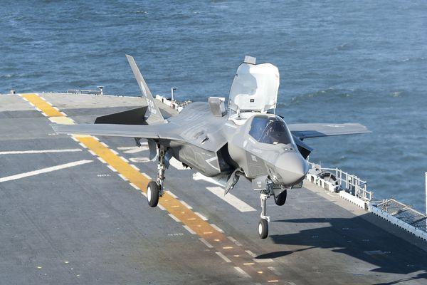 Le Royaume-Uni commande ses quatre premiers F-35B Lightning II