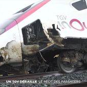 Déraillement d'un TGV à Saverne : 22 blessés dont un grave - Le journal de 20h | TF1