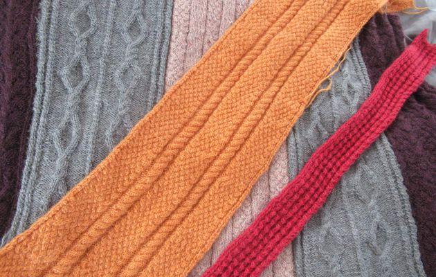 Stricken, frei weg von der Nadel, Pullover Teil 2