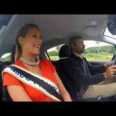 Camille Cerf, Miss France 2015 à l'essai de la nouvelle Peugeot 208!