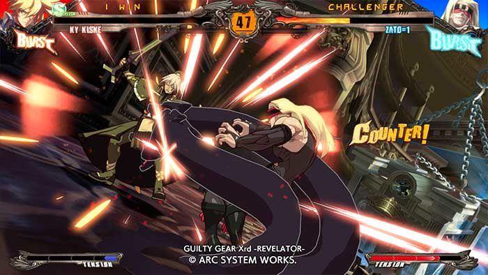 Jouez à la Démo de Guilty Gear Xrd - Revelator !