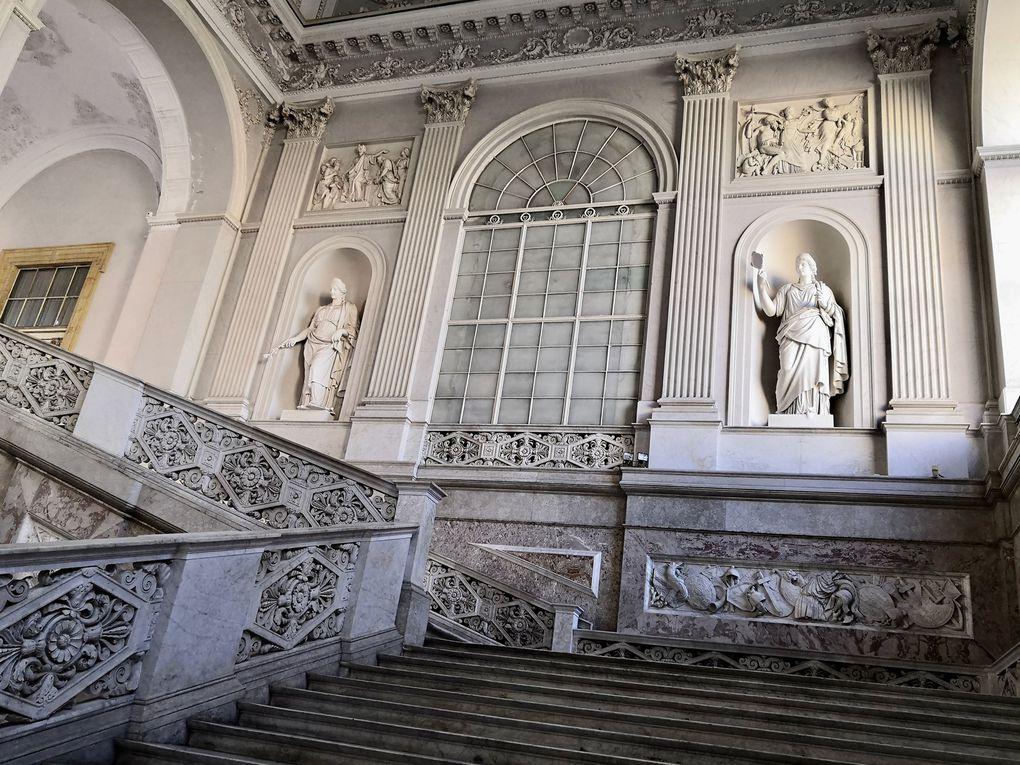 Palazzo Reale, escalier d'apparat