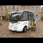 Autun : une navette sans chauffeur pour visiter la ville