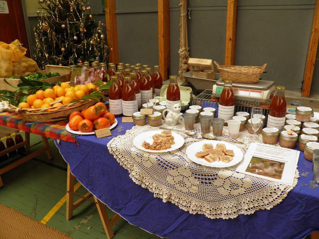 Le marché de Noël de Pré-en-Pail.