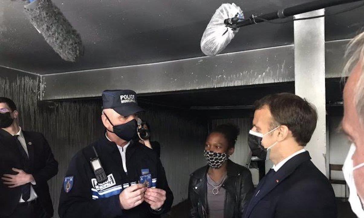 Emmanuel Macron à Montpellier le 19 avril 2021