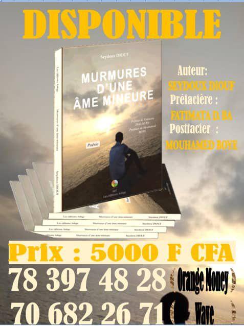 MUMURES D'UNE AME MINEURE  : PAR LE JEUNE SEYDOU DIOUF  PIKINE TDK ..