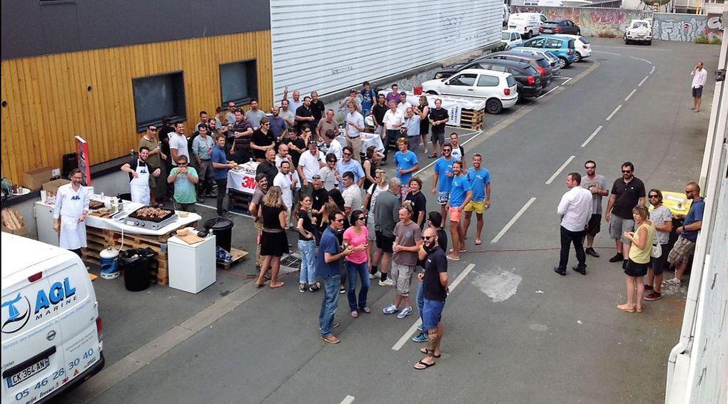 Près de 200 professionnels au barbecue d'AGL Atlantique à La Rochelle