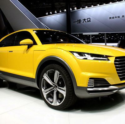 2017 Audi TTQ – New Crossover SUV