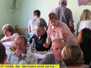 "Allons , le repas convivial de l'association ""les Estubés """