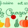 Défi d'octobre....Cuisinons les courges