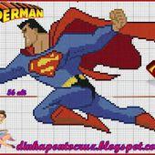 ENCANTOS EM PONTO CRUZ: Super Man