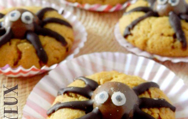 Les Cookies Araignées {Halloween}