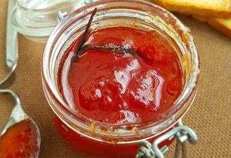 Confiture de tomates à la vanille et fleur d'oranger